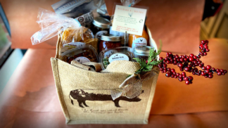 Brick Farm Market, Football by the Fire Gift Basket