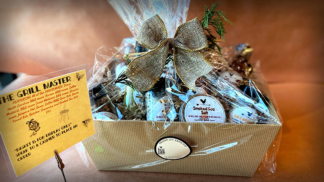 Brick Farm Market, The Grill Master Gift Basket